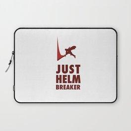 JUST HELM BREAKER RED Laptop Sleeve