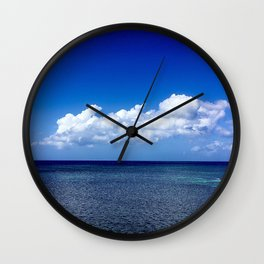 A Cloud of the Floating World Wall Clock