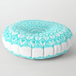 Sand Dollar-Blue Floor Pillow