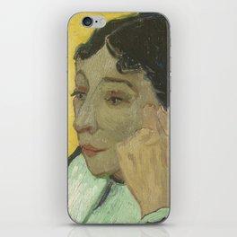 Portrait of Madame Ginoux iPhone Skin