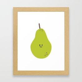 Happy Pear Framed Art Print