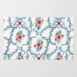 Thai Tile Pattern Rug