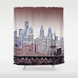 Philly Grit Shower Curtain