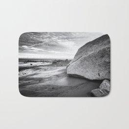 Kenai Beach bw Bath Mat