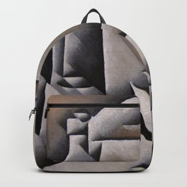 "Juan Gris ""Jar, Bottle and Glass"" Backpack"