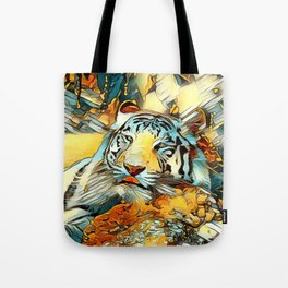 AnimalArt_Tiger_20170603_by_JAMColorsSpecial Tote Bag