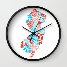 Where I'm From Wall Clock