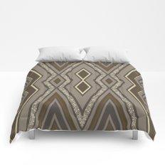Geometric Rustic Glamour Comforters