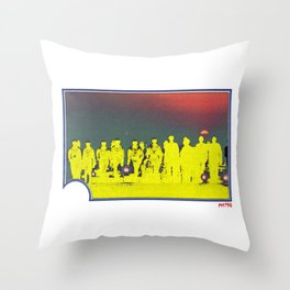 ET Trading Card Throw Pillow