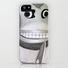 Clapping Monkey iPhone Case