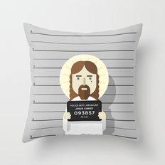 Jesus's arrest Throw Pillow