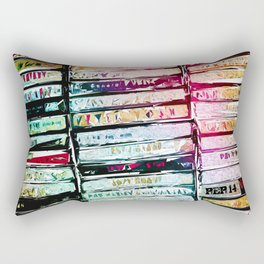 Abstract Cassettes Graphic Rectangular Pillow