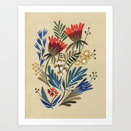 folkflower I Art Print