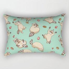Raccoons Love Rectangular Pillow