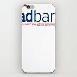 Dad Bank Funny Father Money Gift iPhone Skin