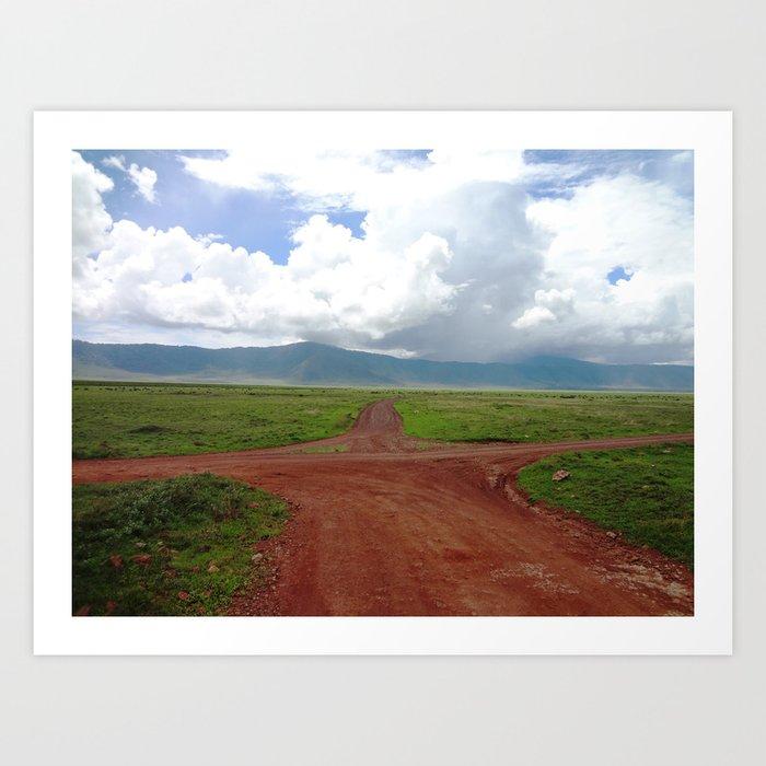 Ngorongoro Crater Kunstdrucke