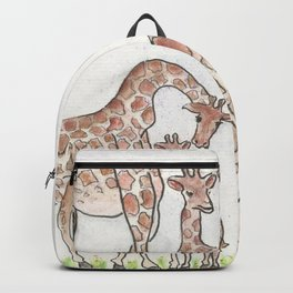 Giraffe and her Calf Backpack