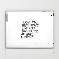 Just Friends Laptop & iPad Skin