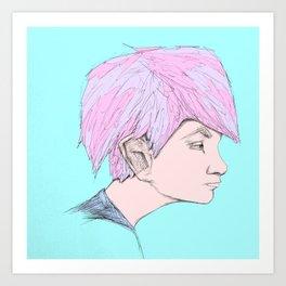 """""""Reruns"""" Art Print"""