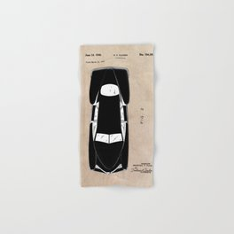 patent Tucker Automobile Hand & Bath Towel