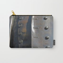 Buttoned, Unbuttoned  Carry-All Pouch