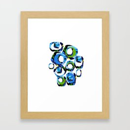 Movement of joy and peace Framed Art Print