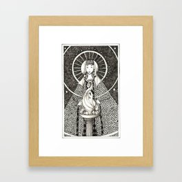 Hestia Framed Art Print