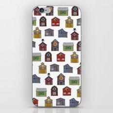 Barn Quilt Illustration iPhone & iPod Skin