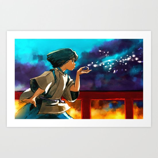 The Dragon Boy Art Print