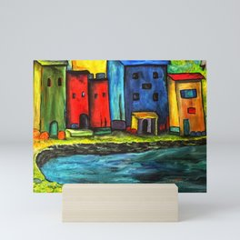 Au Bord de la Mer Mini Art Print