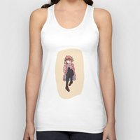 glasses Tank Tops featuring Glasses by notneds
