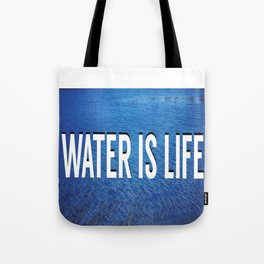 #WATERISLIFE fig. 2 Tote Bag