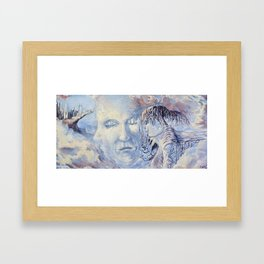 Yet Heaven Is No Nearer  Framed Art Print