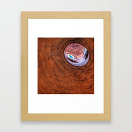 Dome Framed Art Print