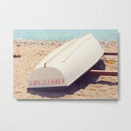 AFE Lifeguard Boat Metal Print