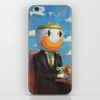 mario iPhone & iPod Skins featuring Mario by Ronan Lynam