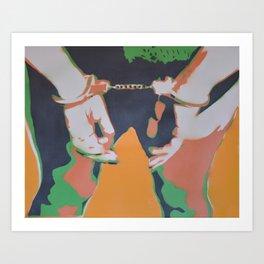 Cuffs Art Print