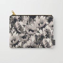 Sunflowers in Soft Sepia Carry-All Pouch