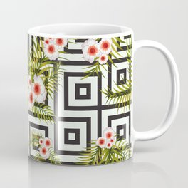 Geometric Jungle #society6 #decor #buyart Coffee Mug