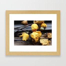Bunch of Roses Framed Art Print