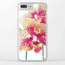 Orchid beauty Clear iPhone Case