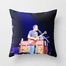 Jack Johnson Virginia Beach Throw Pillow