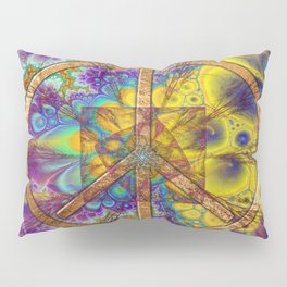Hippy 1 Psychedelic Pillow Sham