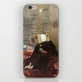 Thoughts of Future Costs iPhone Skin