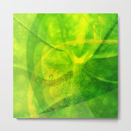 Green Apple Lemonade Metal Print