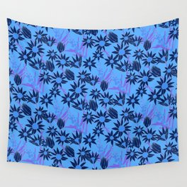 Flannel Flower Fields Wall Tapestry