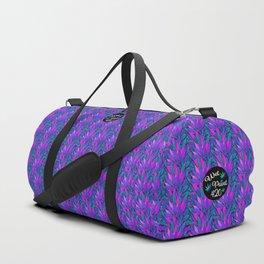 Cannabis Print Purps Duffle Bag