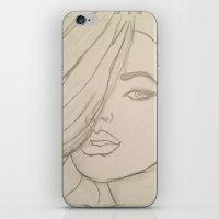 jojo iPhone & iPod Skins featuring JoJo by Art By JuJu