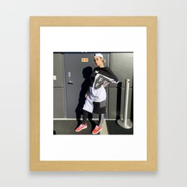 Kehlani 34 Framed Art Print