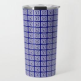 Antic pattern 4- greek labyrinth Travel Mug